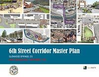6th Street Master Plan first page of document