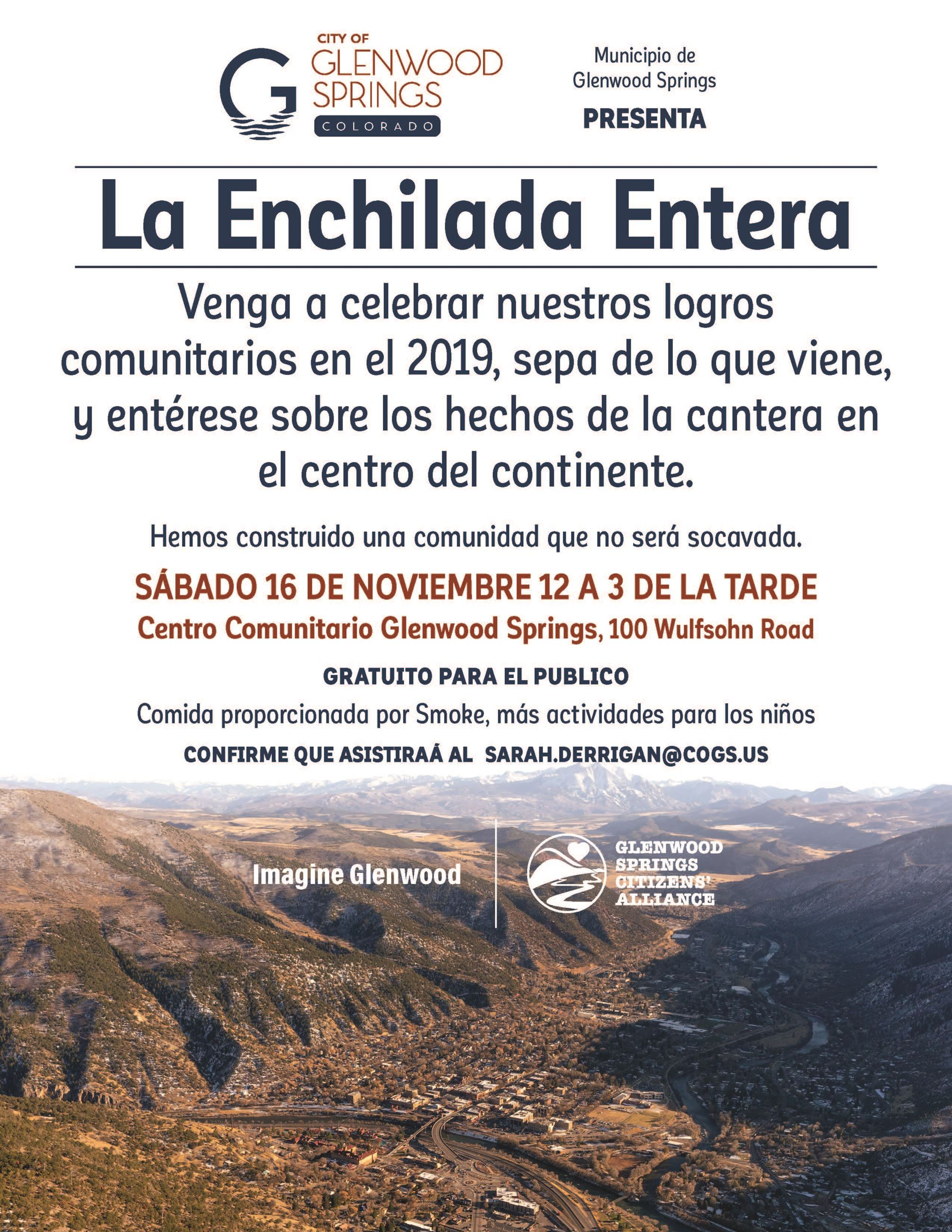November 16 Community Event_Spanish