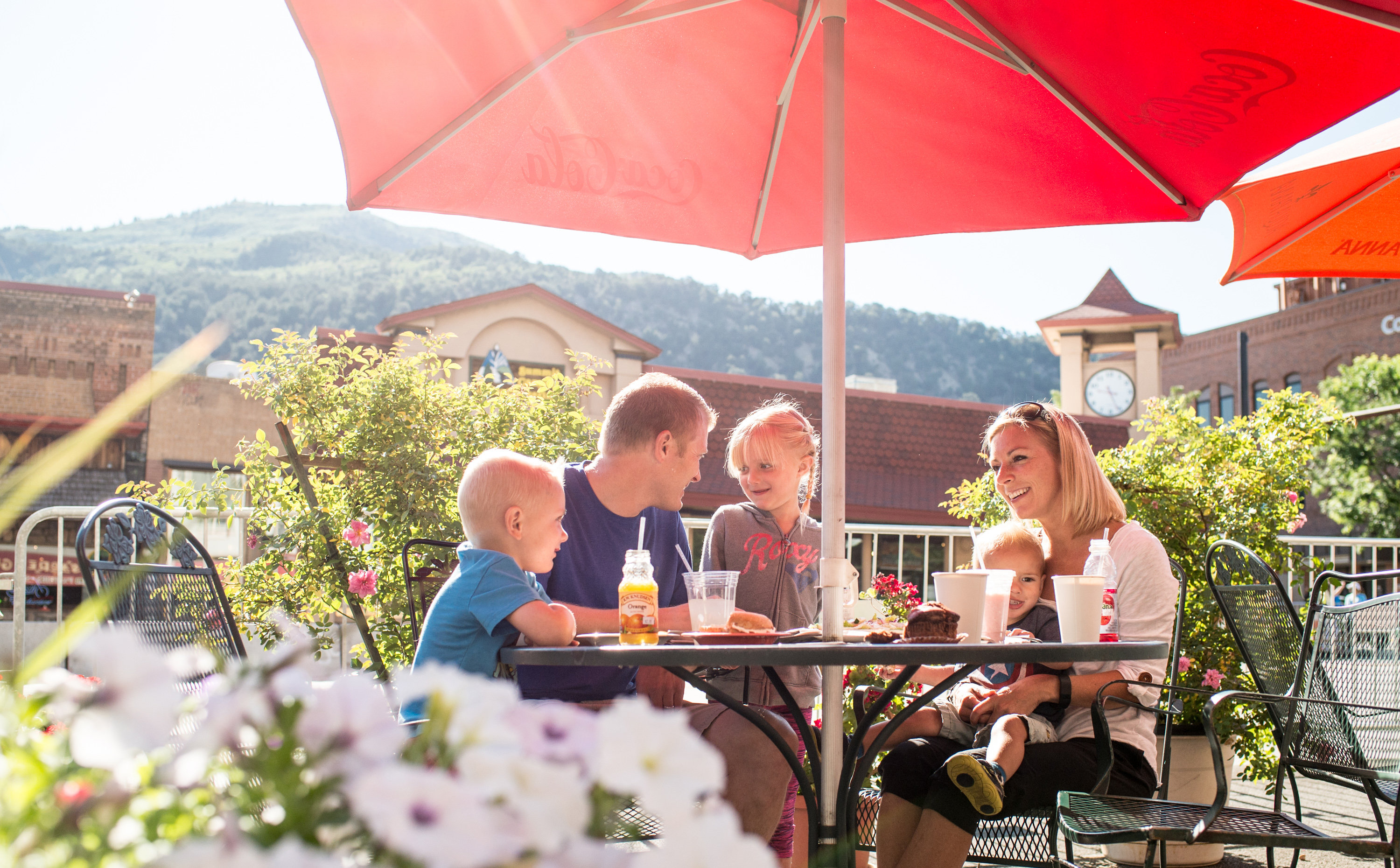 Outdoor Dining in Glenwood Springs